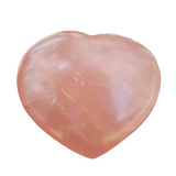 Rose Quartz (Star Rose) Heart