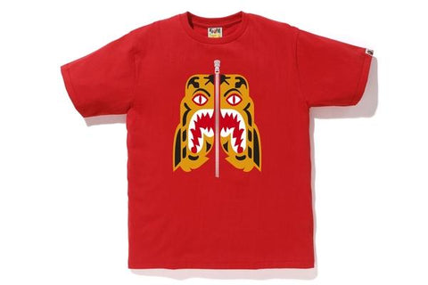 Bape Tiger Tee Red