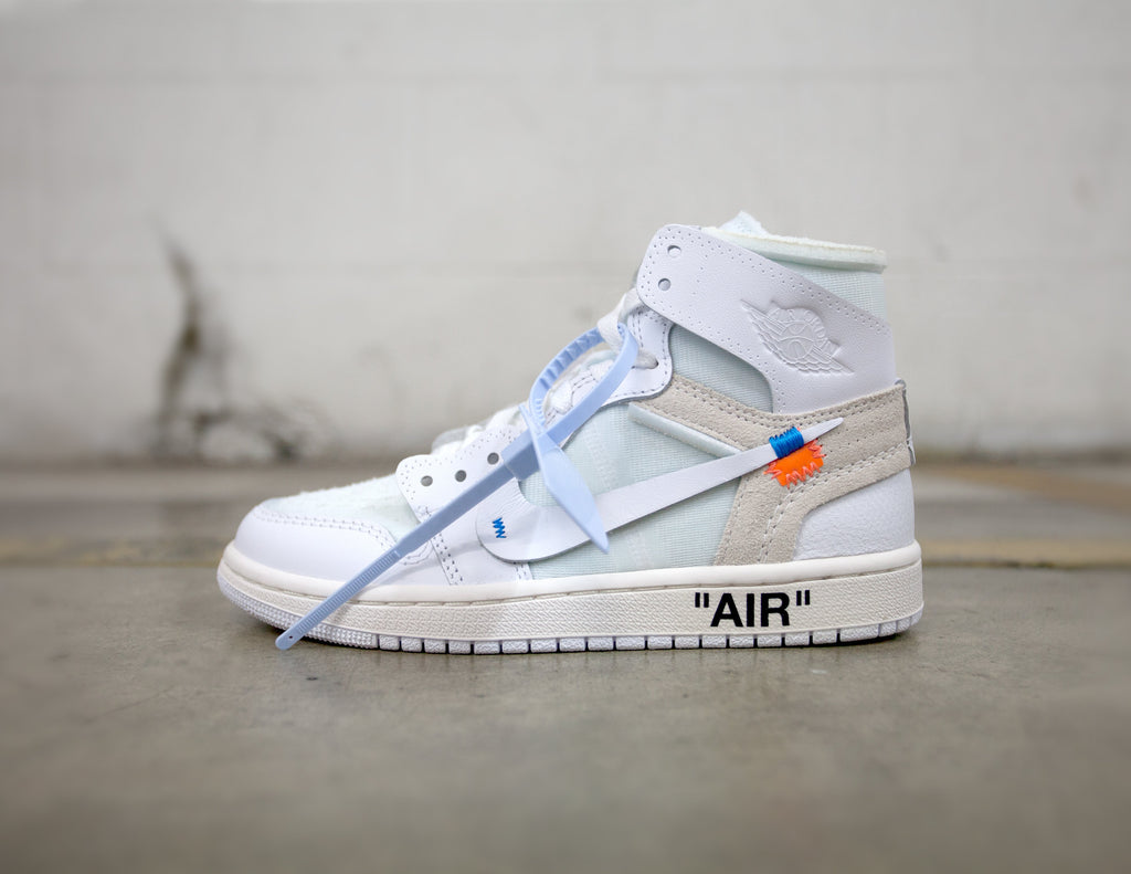 Air Jordan 1 Retro High Off-White White (GS)