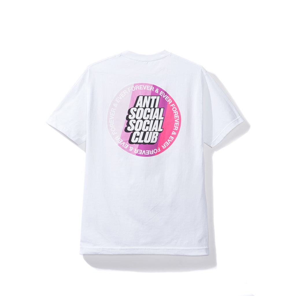 Antisocial Social Club Surfs Up White Tee