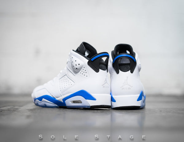 Air Jordan 6 Retro 'Sport Blue' 2014