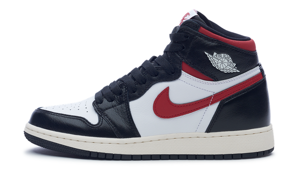 Jordan 1 Retro High Black Gym Red (GS)