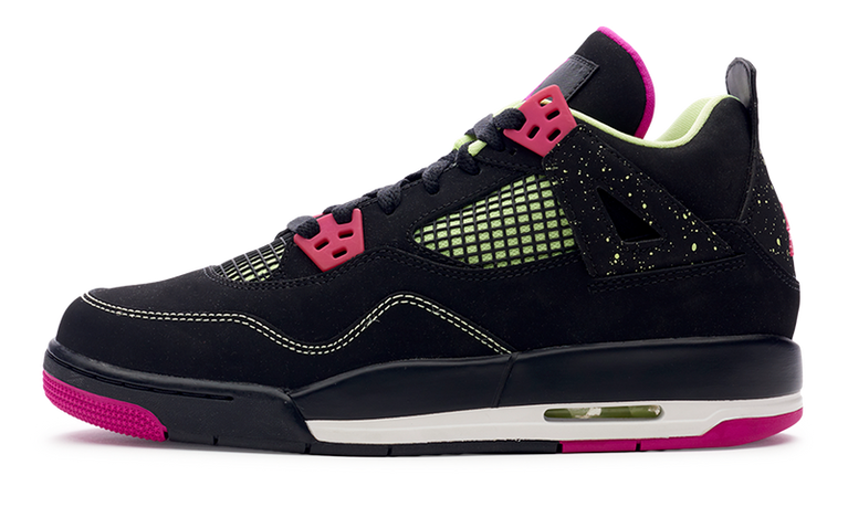 Air Jordan 4 Retro 30th GG 'Fuchsia'