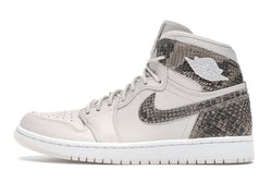 Jordan 1 Retro High White Snake (W)