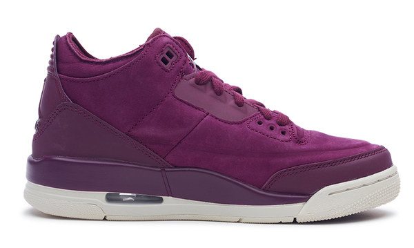 Air Jordan Womens Jordan 3 Retro Bordeaux