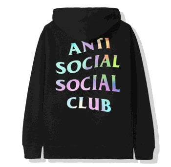 ASSC COTTON CANDY BLACK HOODIE