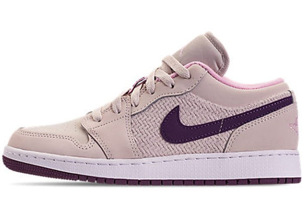 Air Jordan 1 LOW GS 'Night Purple'