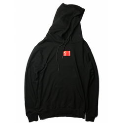 Antisocial Social Club China Hoody Black Red