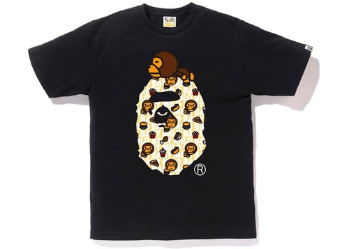 Bape Milo Junk Food on Big Ape  Black