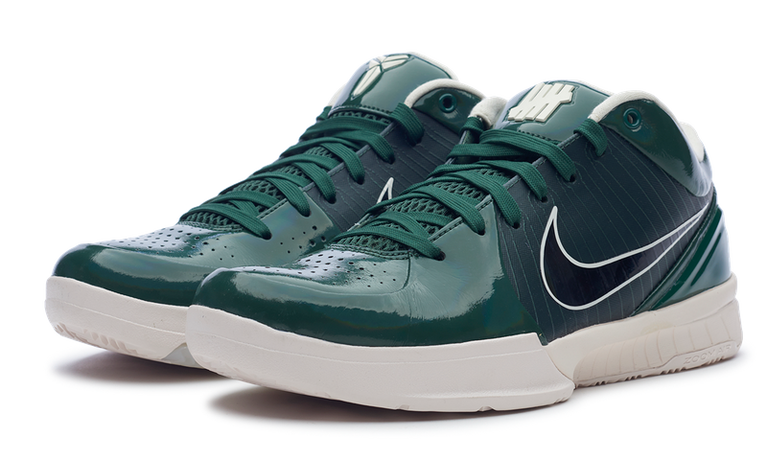 Kobe 4 Protro Undefeated Milwaukee Bucks (Green)