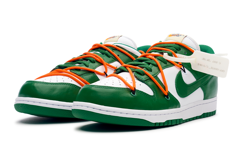 Nike Off-White Dunk Low White/Green