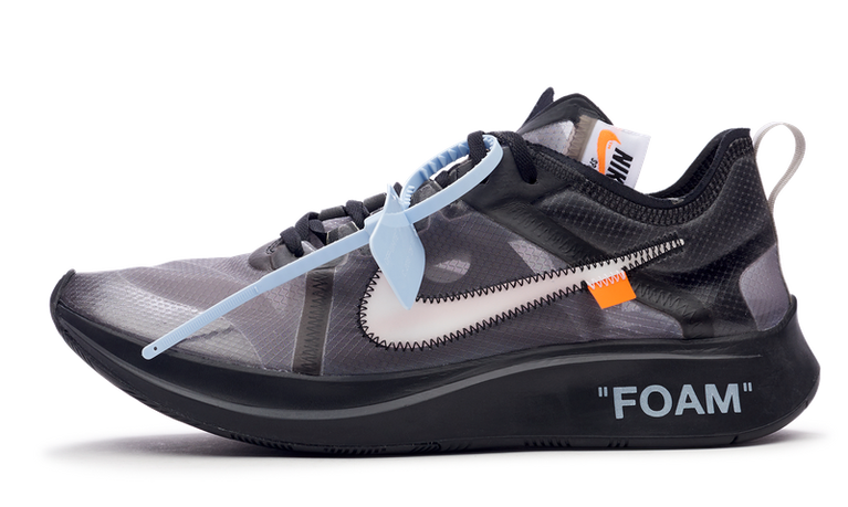 Nike Zoom Fly Off-White Black Silver