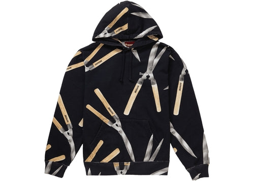 Supreme Shears Hoodie Black