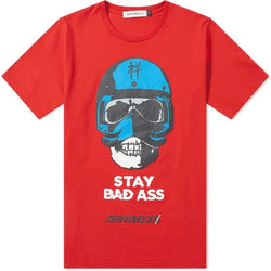 STAY BAD ASS PRINT TEE