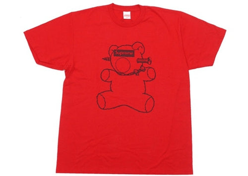 Supreme Undercover Bear Tee Red