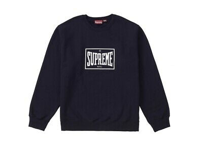 Supreme Warm Up Crewneck Black