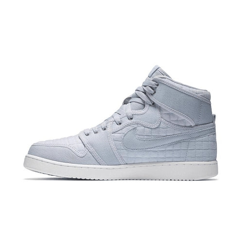 Air Jordan 1 KO High Quilted 'Pure Platinum'