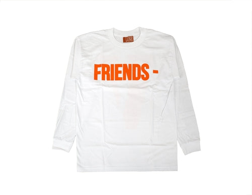 "Vlone ""Friends"" L/S Tee (White)"