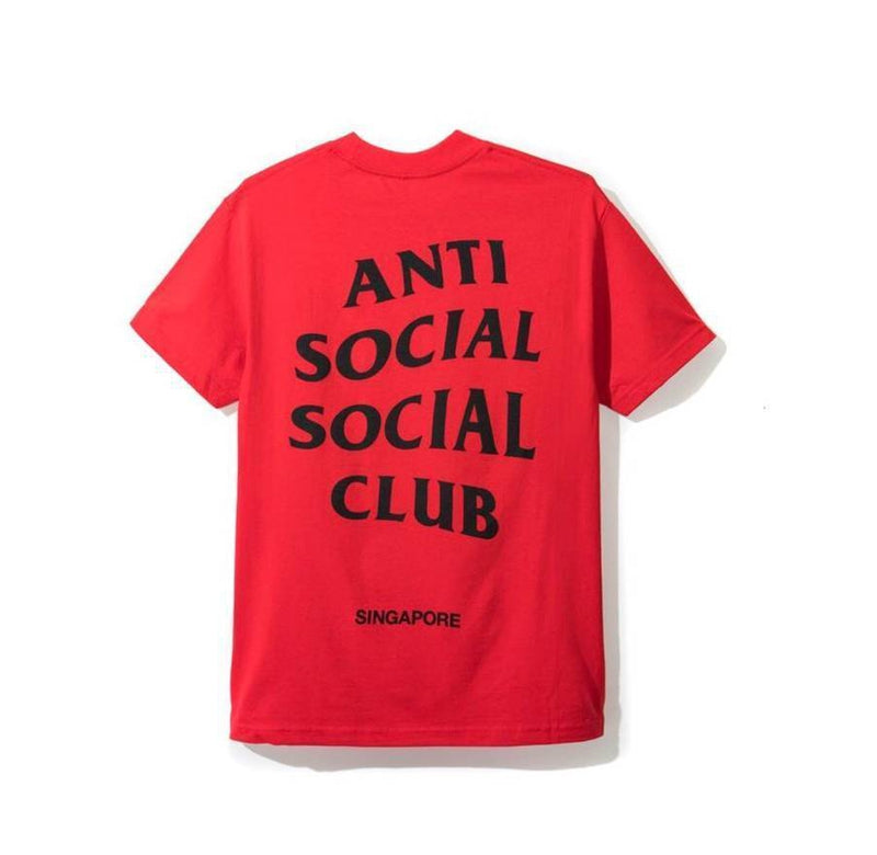 Antisocial Social Club Singapore Red City Tee