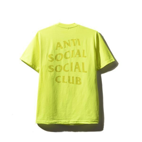 Antisocial Social Club (Asia Exclusive) Motor Sport Yellow Tee