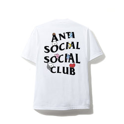 Antisocial Social Club X BT21 Collab - Peekaboo White Tee