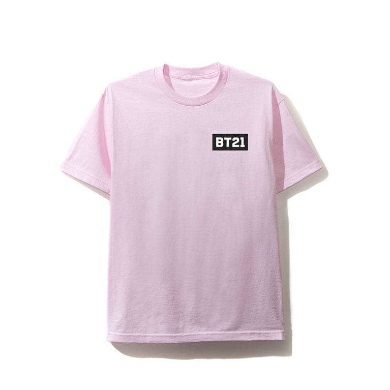 Antisocial Social Club X BT21 Collab - Blended Pink Tee