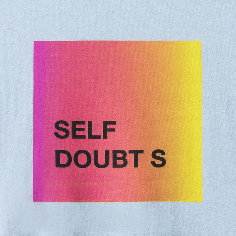 Antisocial Social Club Self Doubts Light Blue Tee