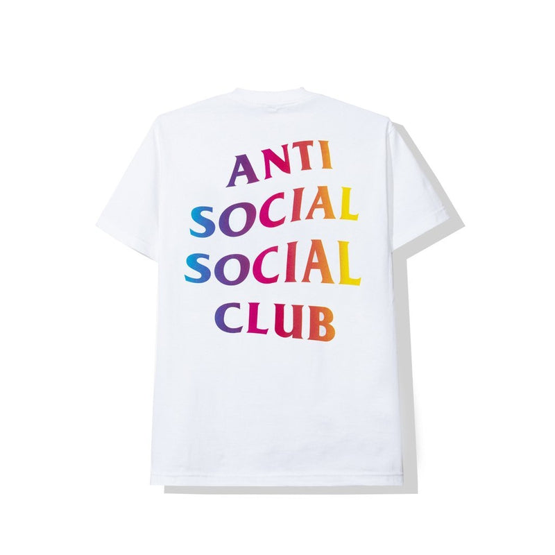Antisocial Social Club MORE LOVE MORE HATE WHITE TEE