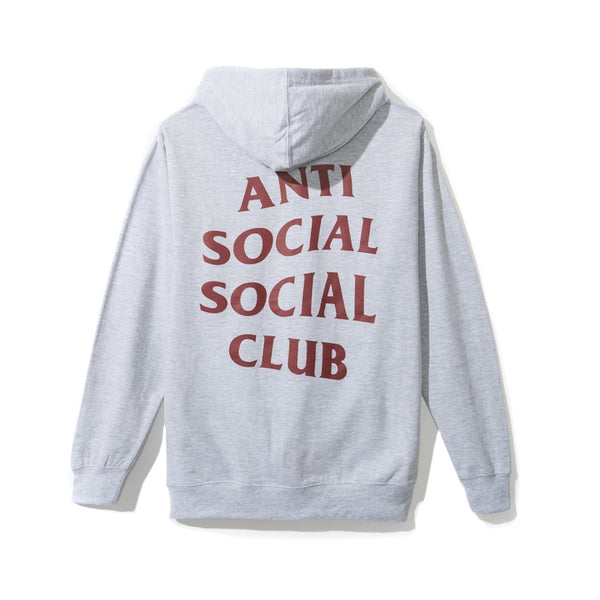 Antisocial Social Club Dramatic Grey Hoody
