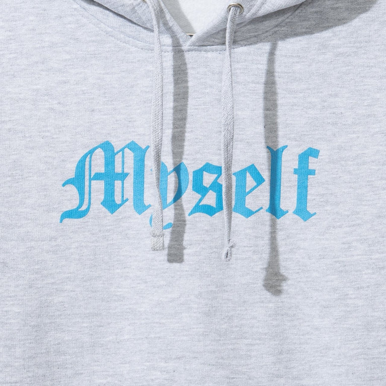 Antisocial Social Club Myself Grey Hoodie