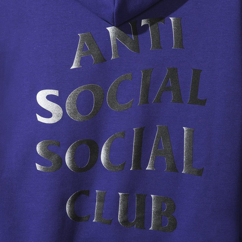Antisocial Social Club Moodyz Purple Hoody