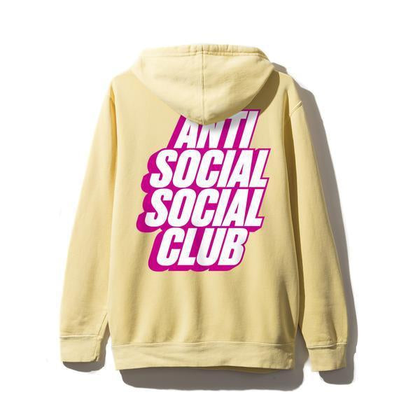 Antisocial Social Club (Asia Exclusive) Blocked Yellow Hoodie
