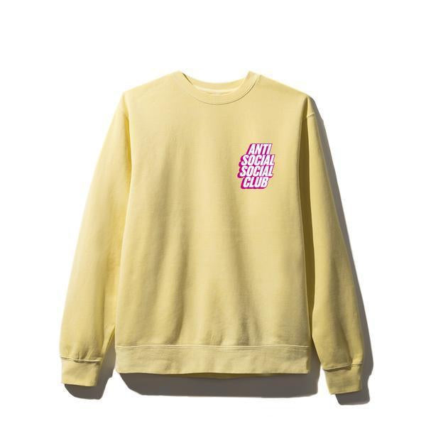 Antisocial Social Club (Asia Exclusive) Blocked Yellow Crewneck
