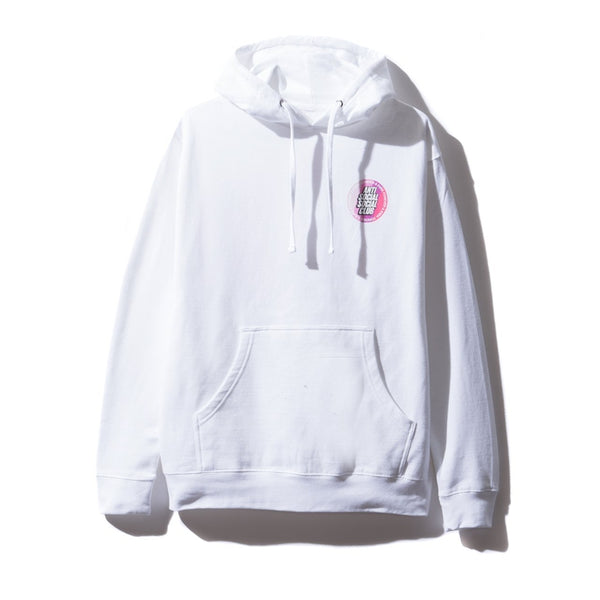 Antisocial Social Club Surfs Up White Hoodie