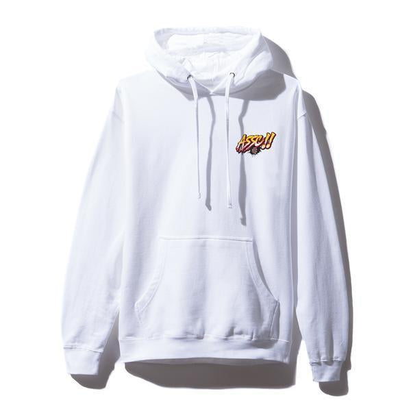 Antisocial Social Club (Asia Exclusive) Motor Sport White Hoodie