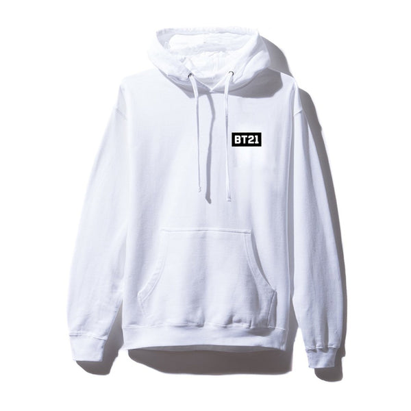 Antisocial Social Club X BT21 Collab - Peekaboo White Hoodie