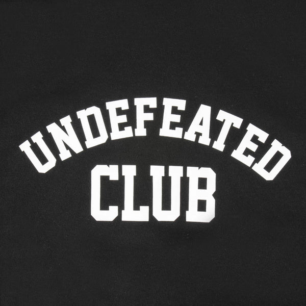 Antisocial Social Club UNDEFEATED CLUB BLACK HOODIE