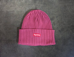OVERDYED RIBBED BEANIE