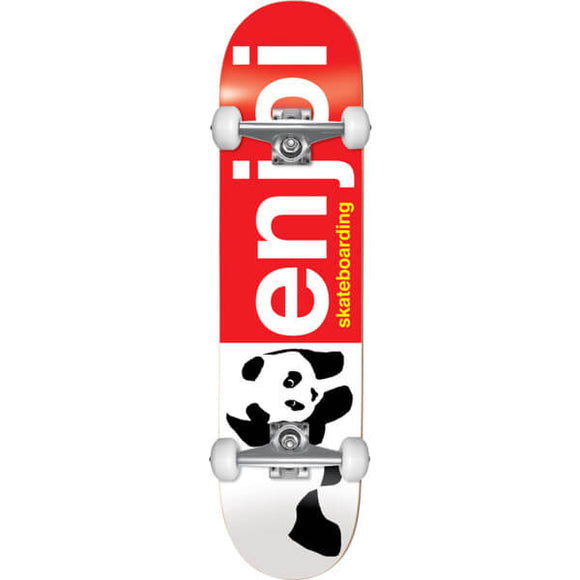 Enjoy Half and Half Youth Complete Skateboard 7.0