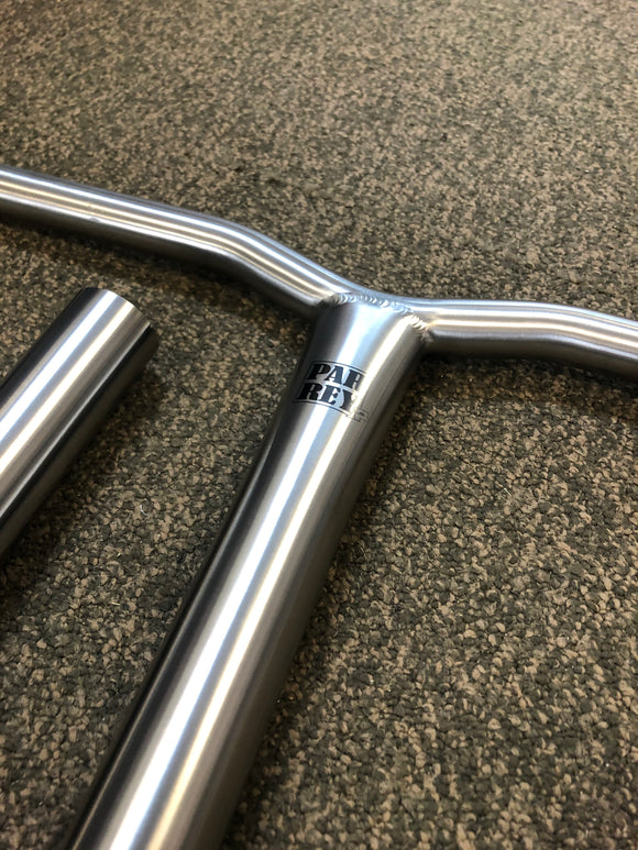Parrey Titanium Bars Curved
