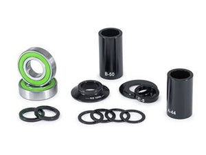 Eclat Mid BB bearings -  22mm Spindle / Black