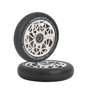 Oath Components Bermuda Ano Black / Chrome 120 x 26mm