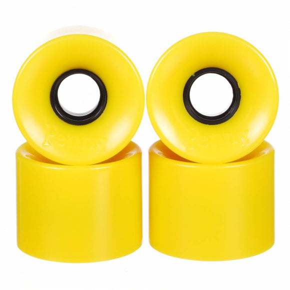 penny cruiser 79a skateboard wheels yellow 59mm