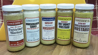 Mustards- Lakeside Horseradish and Mustards 8oz