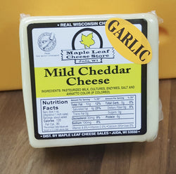 Cheddar- White Cheddar with Garlic, 16oz
