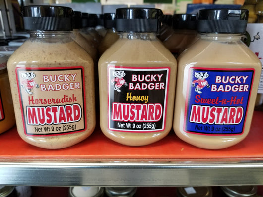 Mustards, Bucky Badger Brand