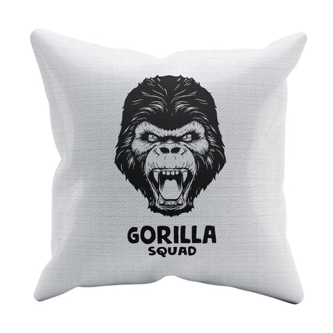 Gorilla Squad Throw Pillow | 500 LEVEL