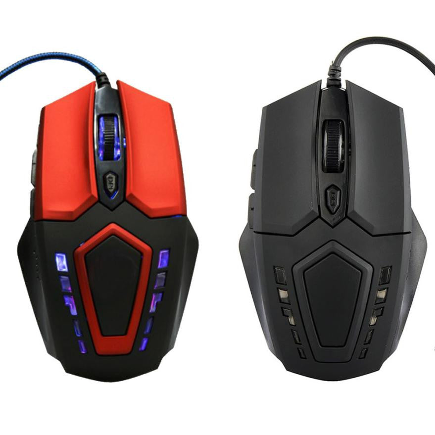 2016 Newest  Gameing Mouse 3200 DPI 6D Buttons LED Wired Gaming Mouse For PC Laptop For Sale