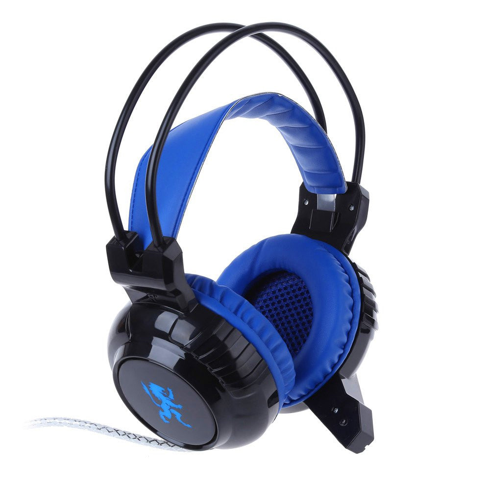 cheap price over ear wired gaming headphone with mic. Black Bedroom Furniture Sets. Home Design Ideas
