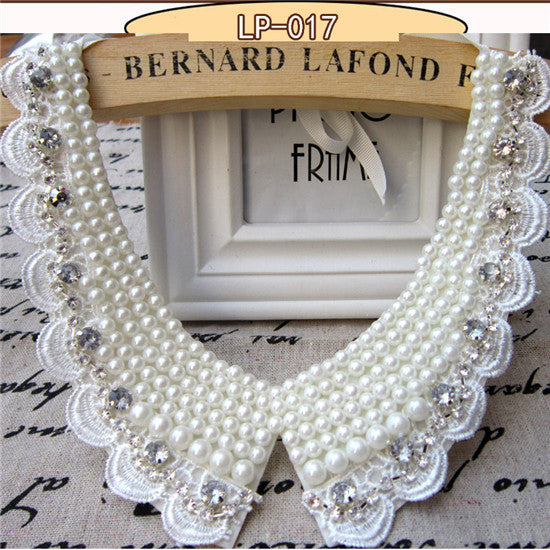 Victorian Crystal Choker Necklace